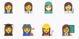google female emojis