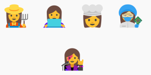 more female emojis